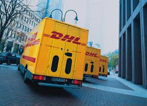 DHL Transporter