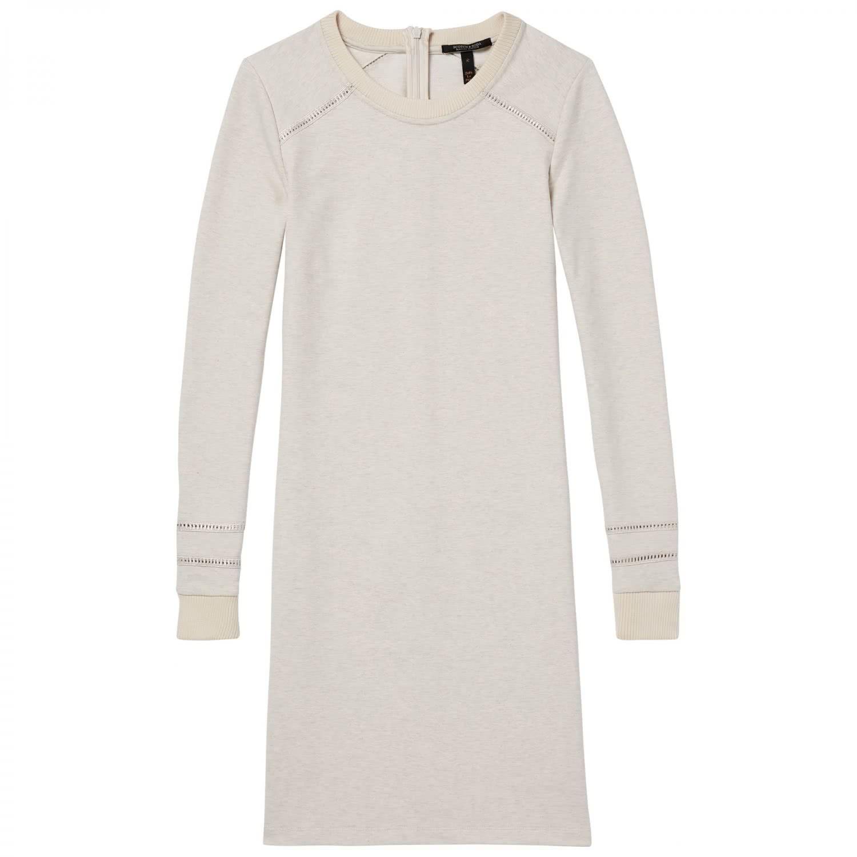 maison scotch damen kleid fitted sweat dress 143481. Black Bedroom Furniture Sets. Home Design Ideas