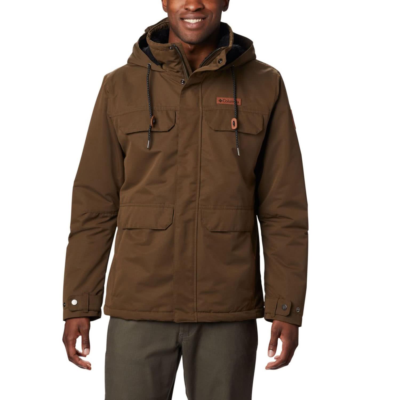 Columbia South Canyon Lined Jacket Winterjacke Black   S