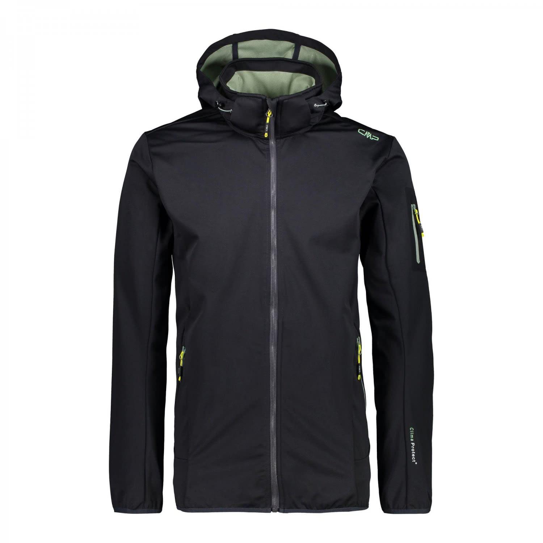 cmp herren softshelljacke man zip hood jacket 38a5577. Black Bedroom Furniture Sets. Home Design Ideas
