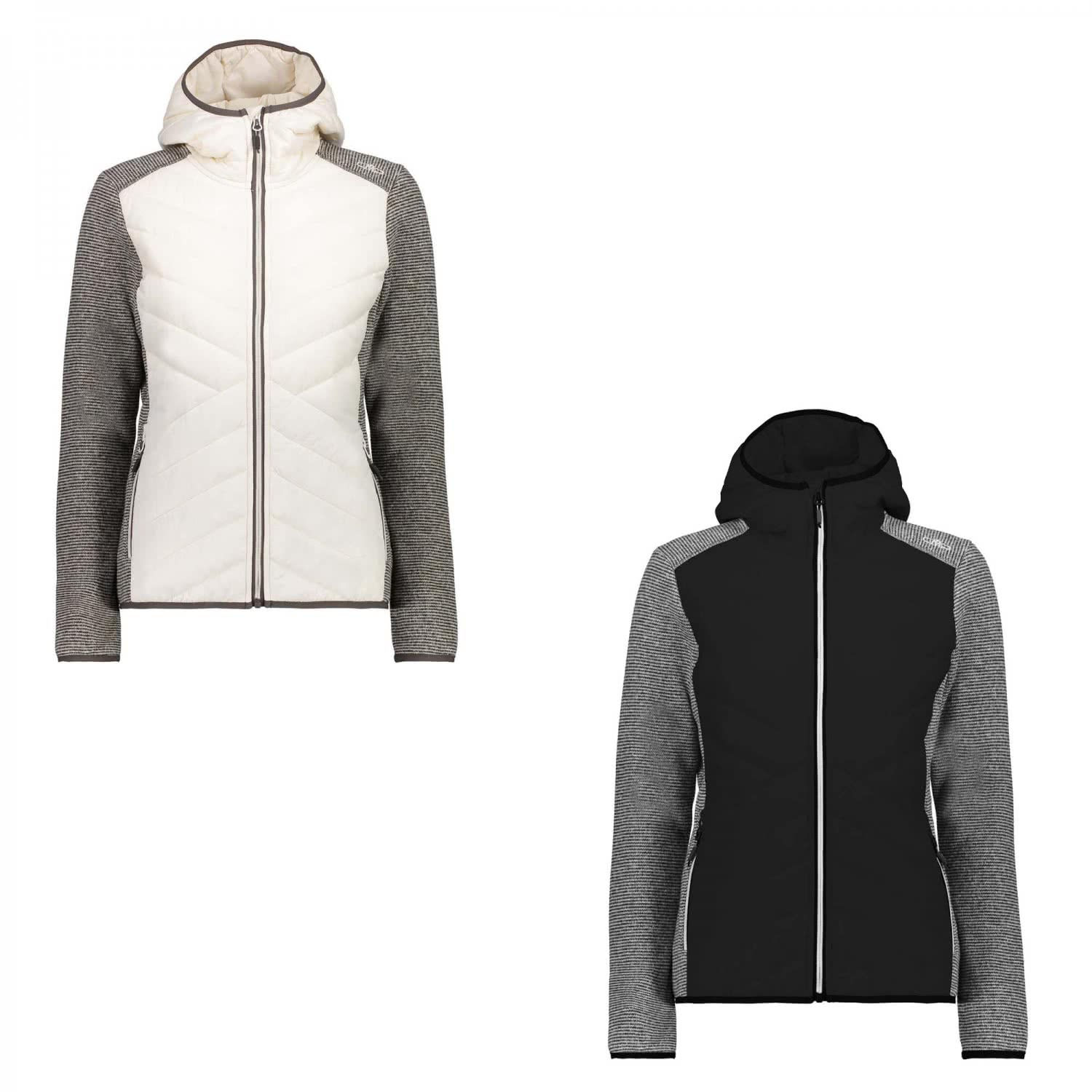 Cmp Fleece Damen Fix Hood Hybrid