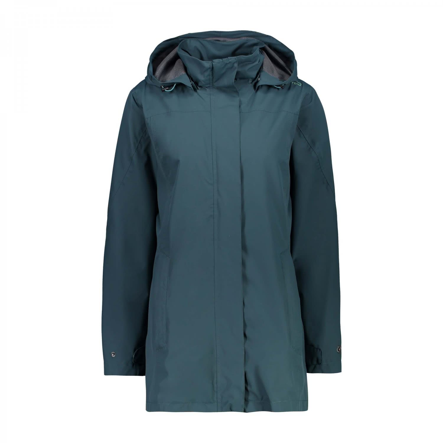 CMP Damen Regenjacke Woman Rain Jacket Button Hood 39X6646