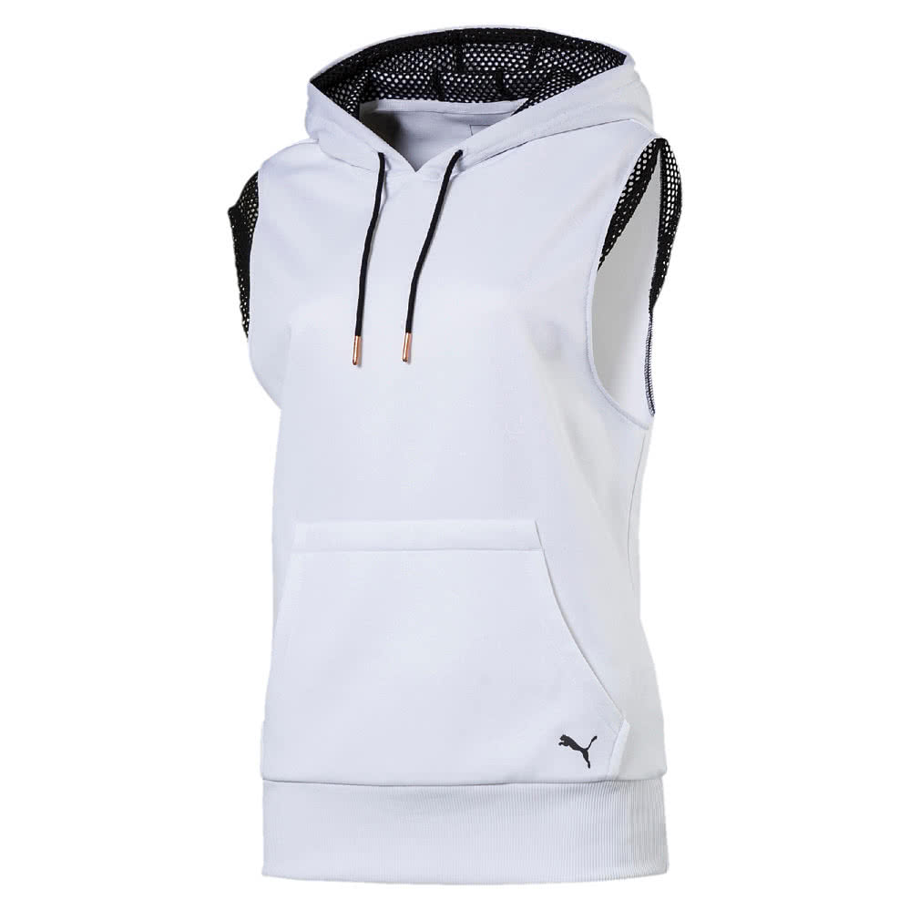 puma damen hoodie explosive sleeveless 515679. Black Bedroom Furniture Sets. Home Design Ideas