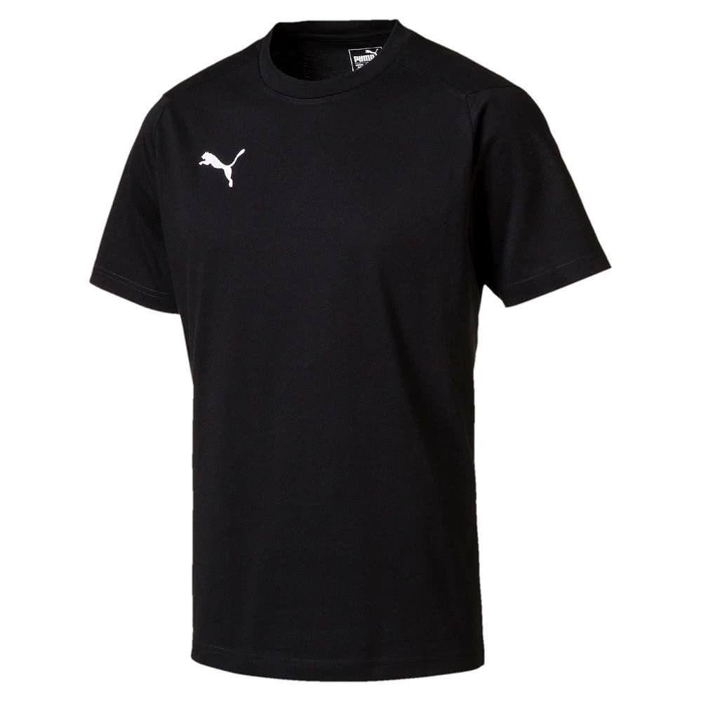 Puma Liga Casuals T Shirt puma black puma white