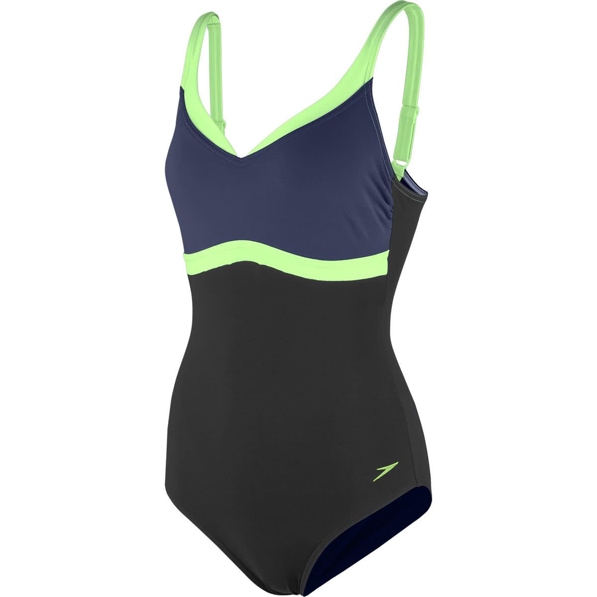 100% Zufriedenheitsgarantie attraktiver Stil billigsten Verkauf Speedo Damen Badeanzug Sculpture Aquajewel 8-10414 ...