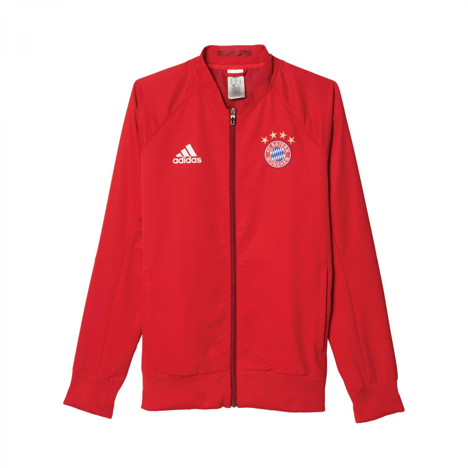 adidas herren fc bayern woven anthem jacke. Black Bedroom Furniture Sets. Home Design Ideas