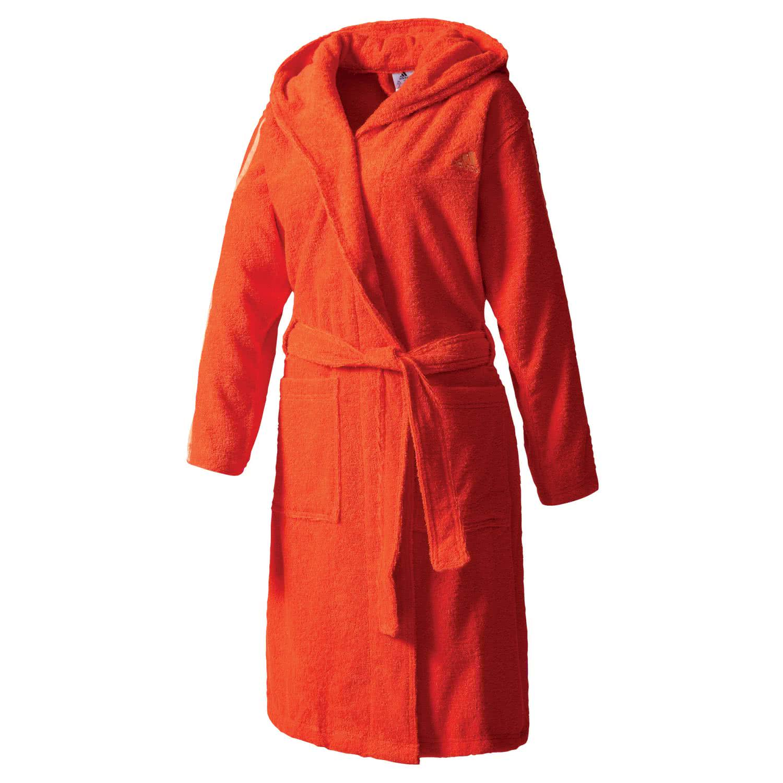 adidas damen bademantel 3 stripes bathrobe bk0301 xs. Black Bedroom Furniture Sets. Home Design Ideas