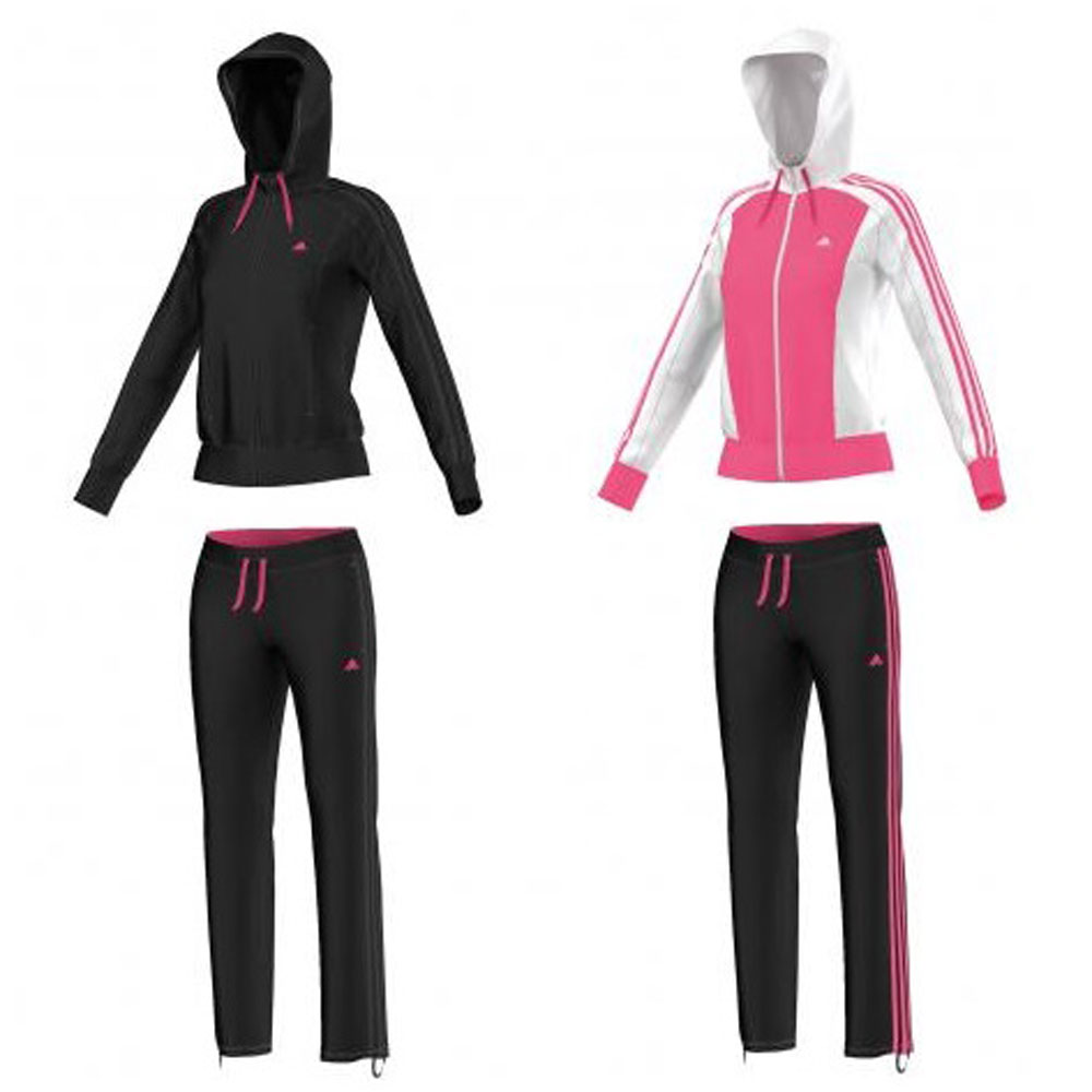 adidas damen trainingsanzug new young knit ebay. Black Bedroom Furniture Sets. Home Design Ideas