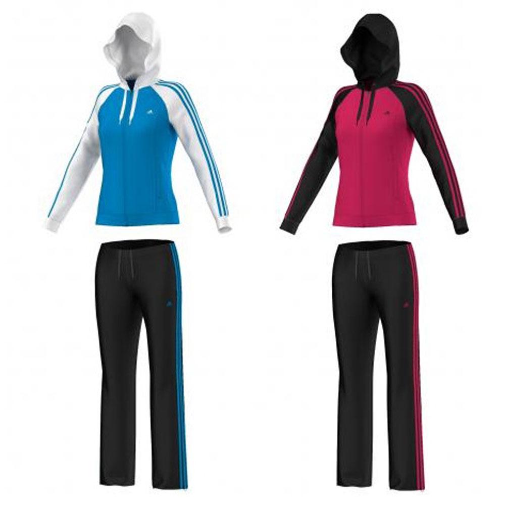 2bd47b9ceef3c adidas Damen Trainingsanzug Young Knit Suit adidas Performance
