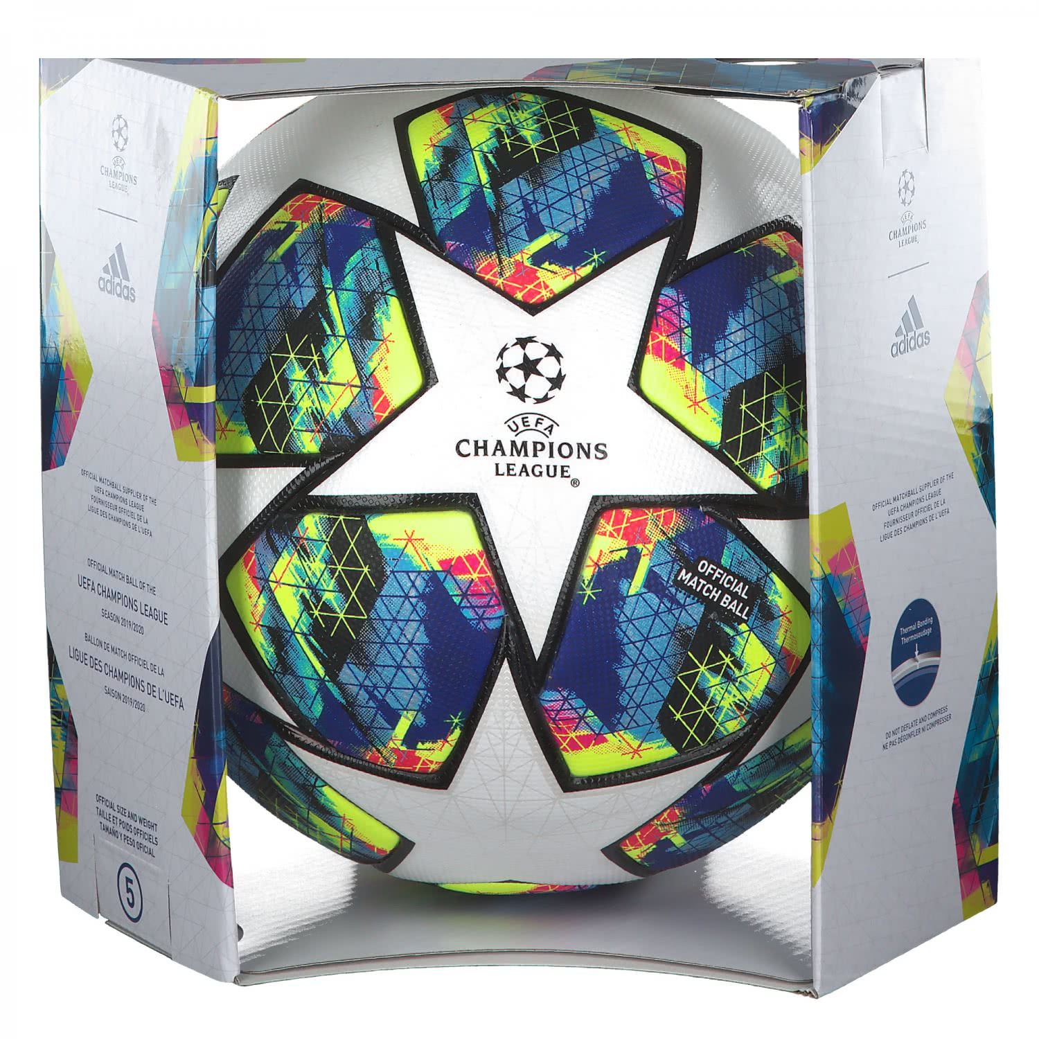 Adidas Fussball Ucl Finale 2019 Omb Dy2560 5 White Bright