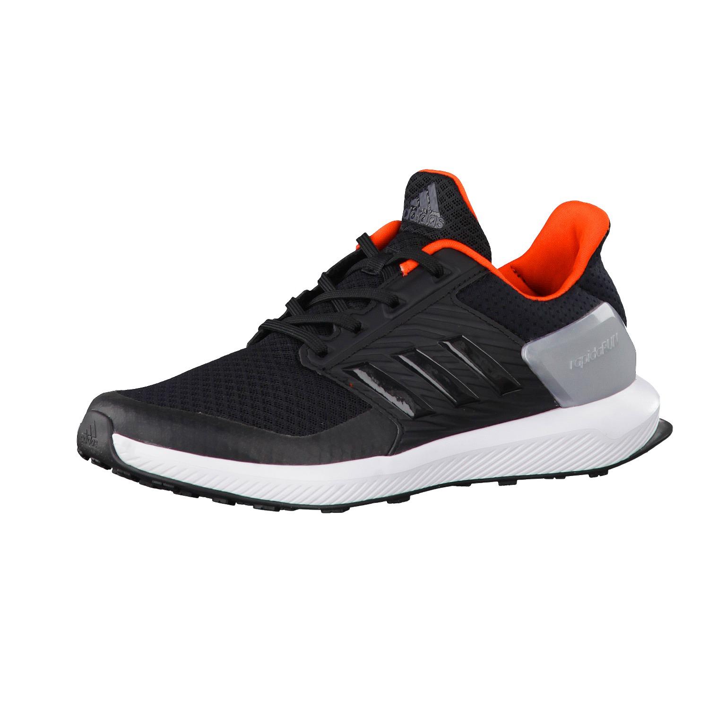 Kids Adidas Shoes Rapid Run Black