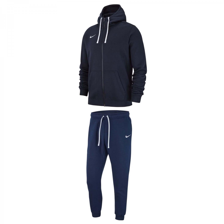 Nike Herren Sportanzug Jogginghose Kapuzenpullover Hoodie Baumwolle Schwarz