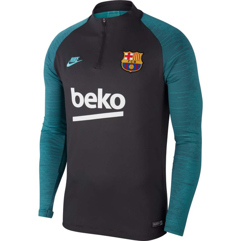 Nike Herren FC Barcelona Trainingstop Dry Strike Drill Top