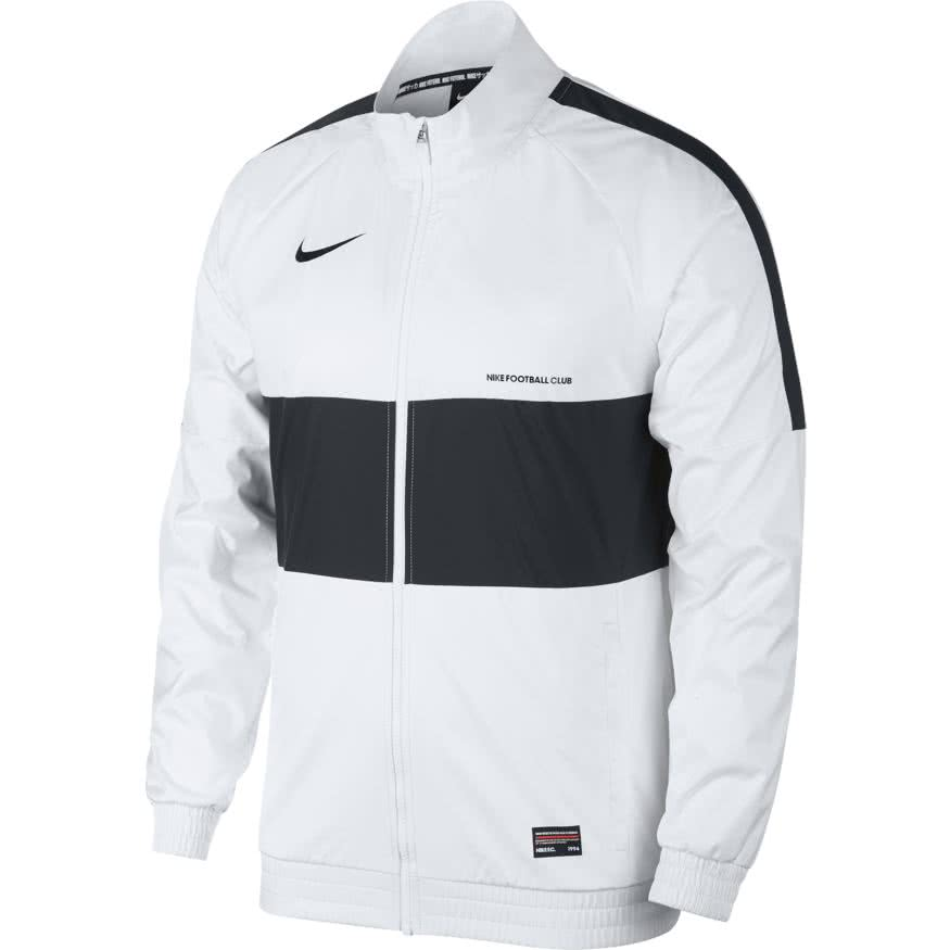 online store wholesale outlet cheapest Nike Herren Trainingsjacke Nike F.C. TRK Jacket W AQ1275-100 XL  White/White/Black/Black | XL | cortexpower.de