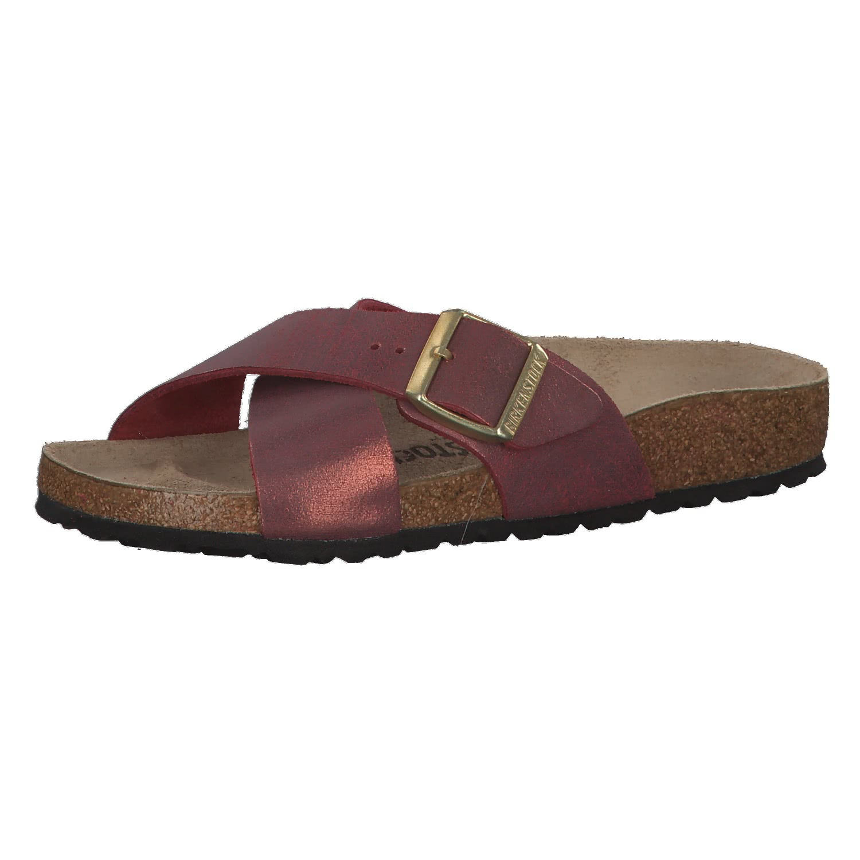 Birkenstock Damen Sandale Siena Washed Metallic VL 1014904