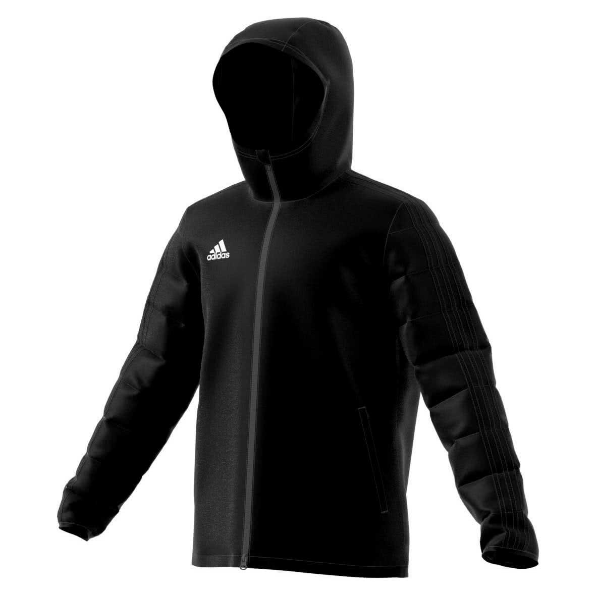 Adidas CONDIVO 18 Winter Jacket Winterjacke schwarz weiß Kinder