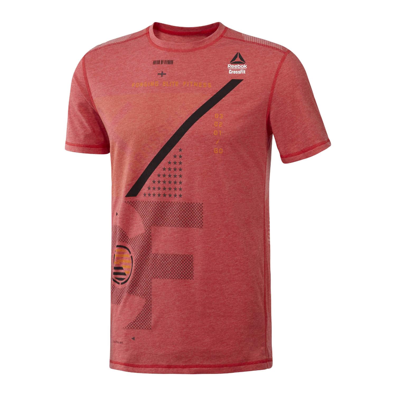 Reebok crossfit herren t shirt burnout tee for Reebok crossfit t shirts