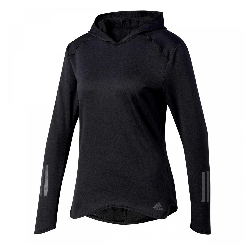 size 40 0500d 79e92 adidas Damen Hoodie RESPONSE CLIMA WARM BS2903 XXS black | XXS |  cortexpower.de