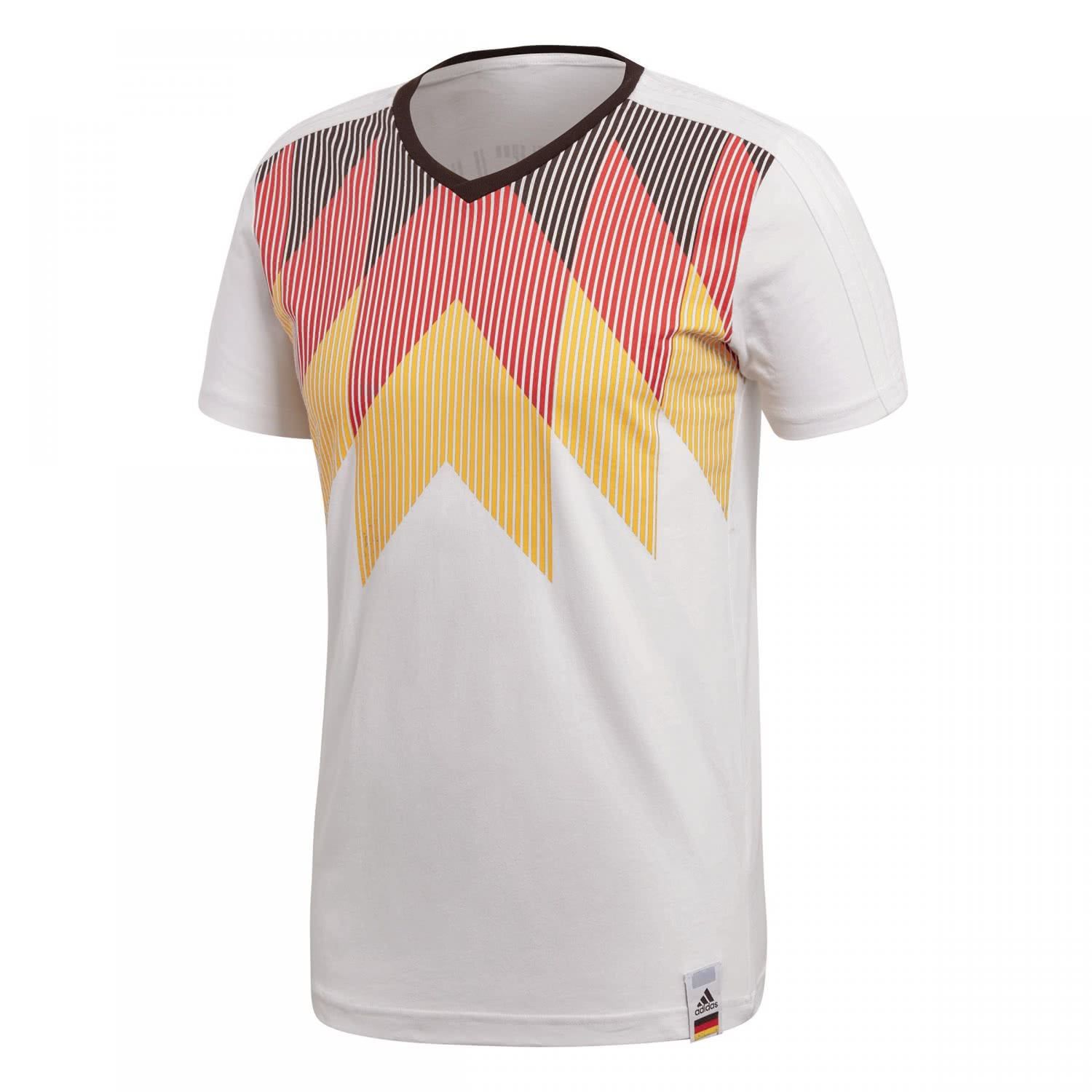 adidas herren dfb t shirt germany country identity tee. Black Bedroom Furniture Sets. Home Design Ideas