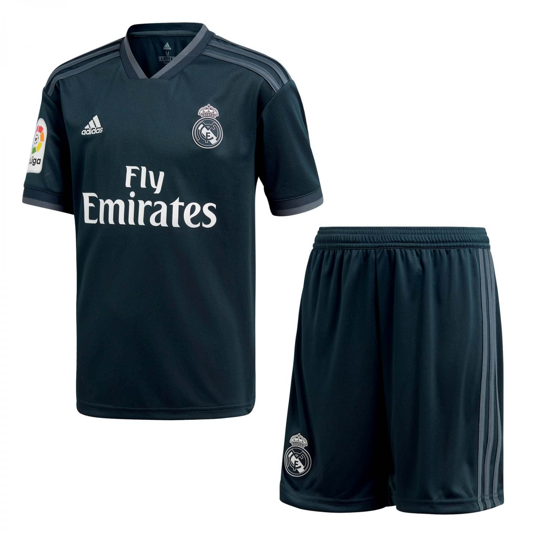 adidas Kinder Real Madrid Away Mini Kit 201819 CG0569 152
