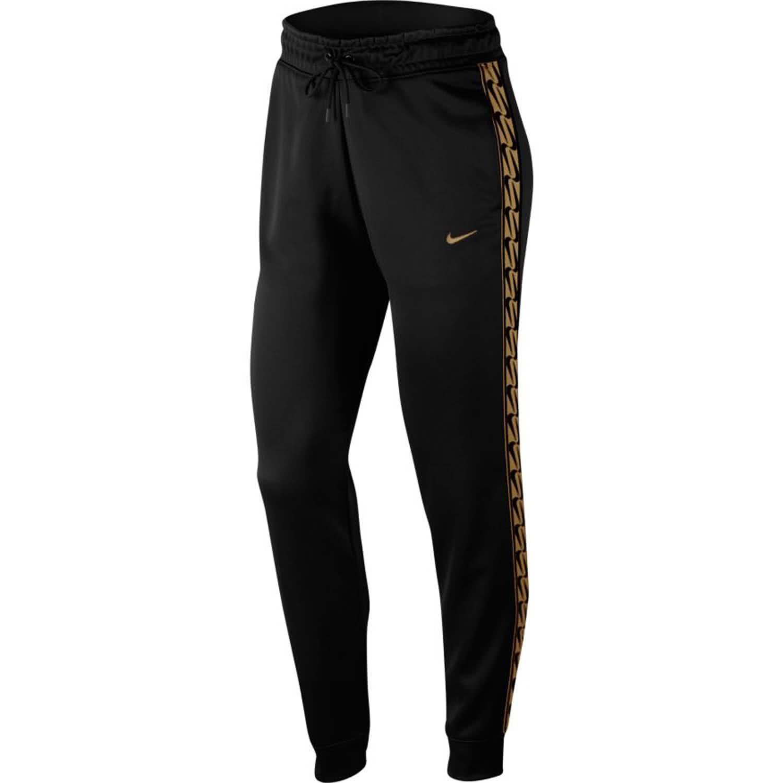 Nike Damen Trainingshose Jogger Logo Tape CJ6325 011 M Black