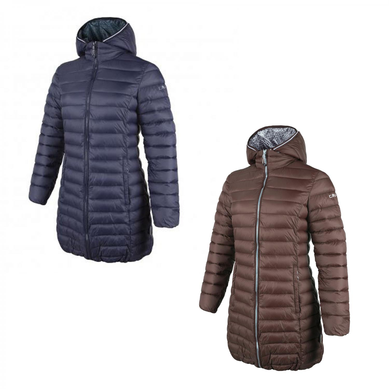 cmp damen daunenmantel zip hood coat 3z27566 ebay. Black Bedroom Furniture Sets. Home Design Ideas