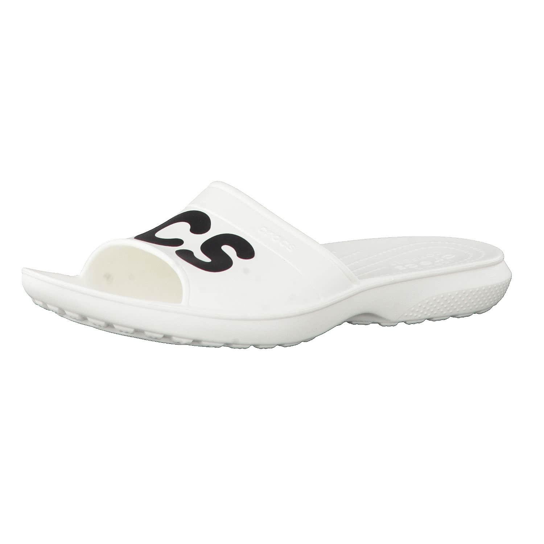 Crocs Sandale Classic Graphic Slides 204465-103 43-44 BkJOyPoJ