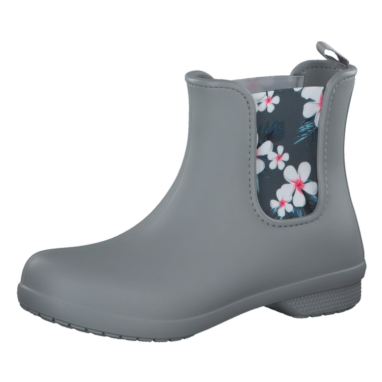 Crocs Crocs Freesail Chelsea Boot W Damen Gummistiefel black