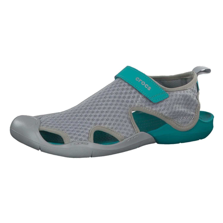 Crocs Damen Sandale Swiftwater Mesh 204597-007 39-40 wNVK3O