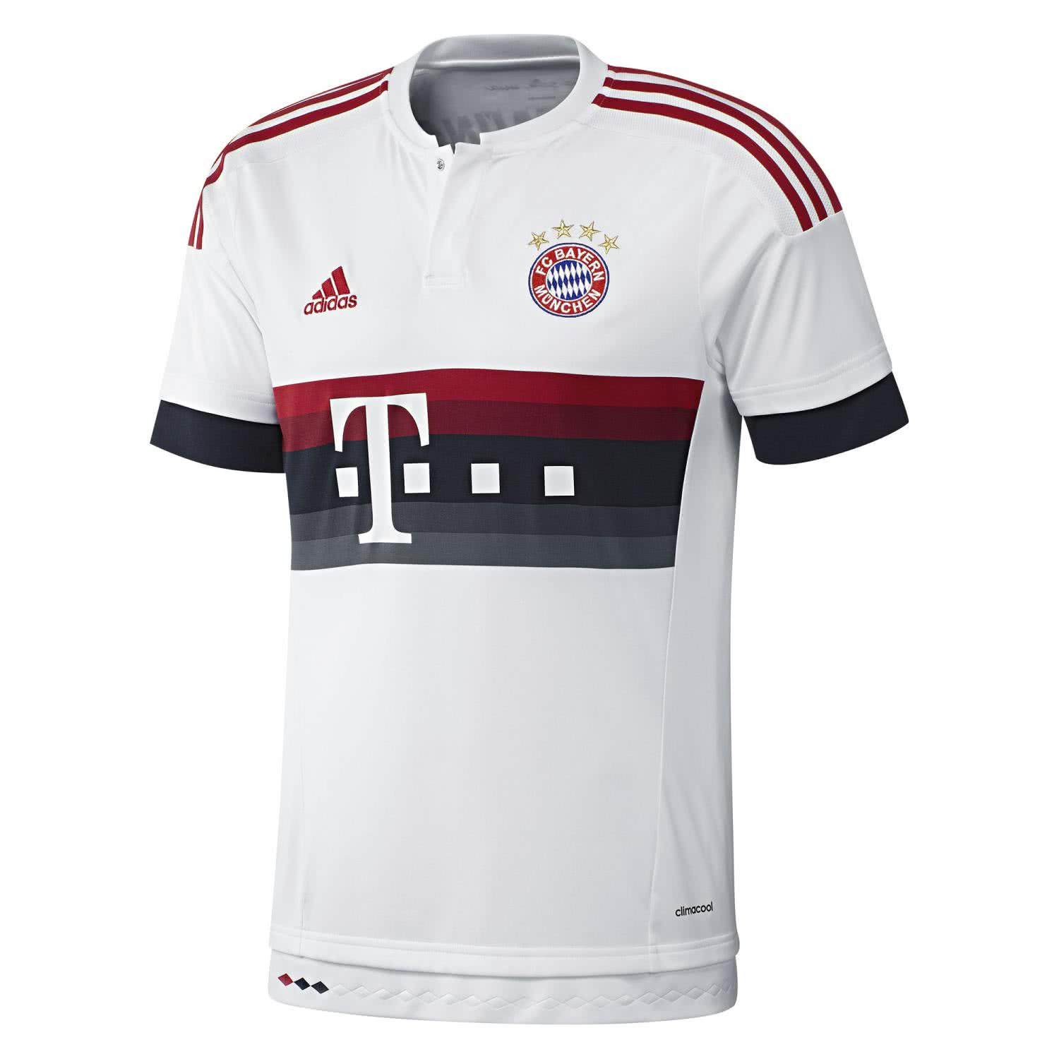 adidas herren fc bayern m nchen away trikot 2015 16. Black Bedroom Furniture Sets. Home Design Ideas