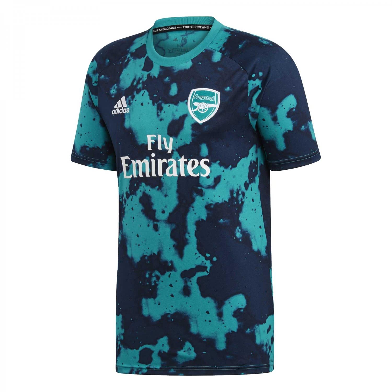 adidas Herren FC Arsenal Trikot Home Pre Match FJ9295 XXL eqt greendark blue | XXL |