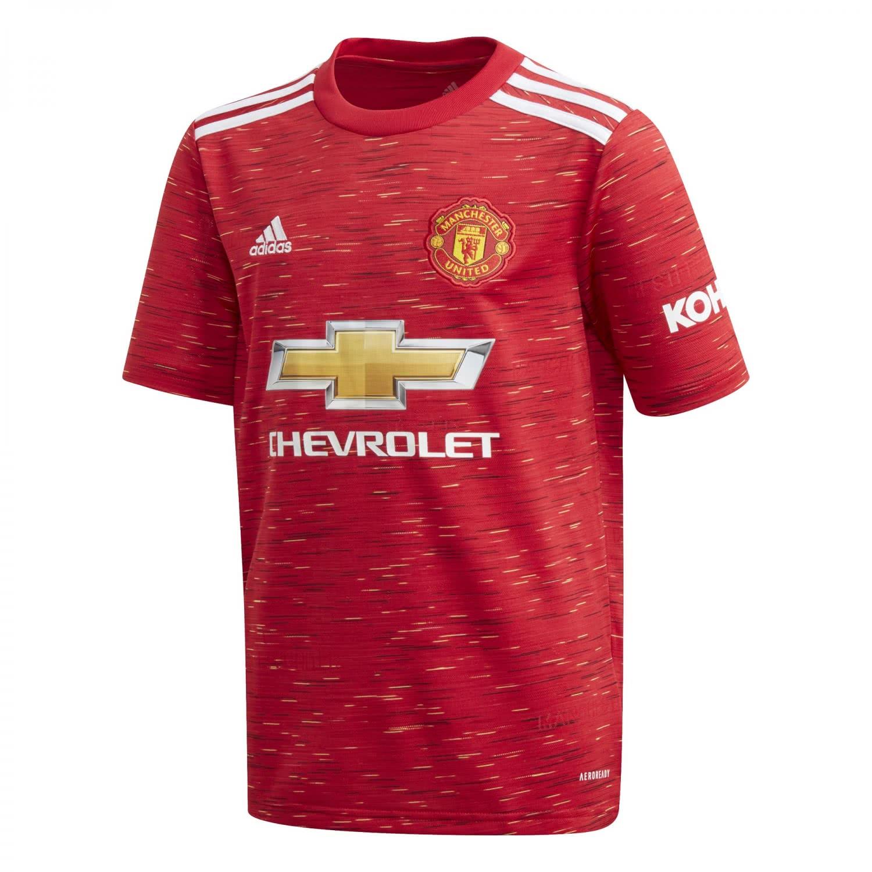 adidas Kinder Manchester United Home Trikot 20/21 ...