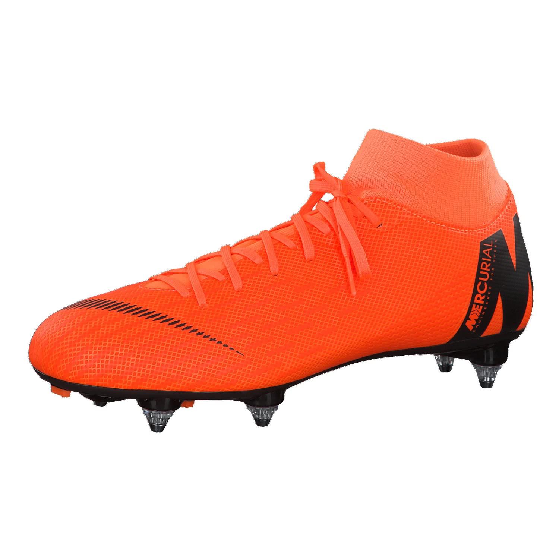 VAPOR 12 ACADEMY MG - Fußballschuh Nocken - black/total orange/white HTnndE5a