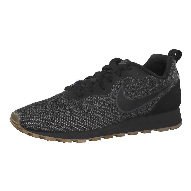 Nike Herren Sneaker MD Runner 2 ENG Mesh 916774-010 45.5 Black/Black ...