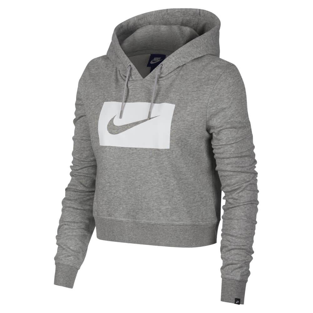 nike damen kapuzenpullover sportswear hoodie swoosh 892919. Black Bedroom Furniture Sets. Home Design Ideas