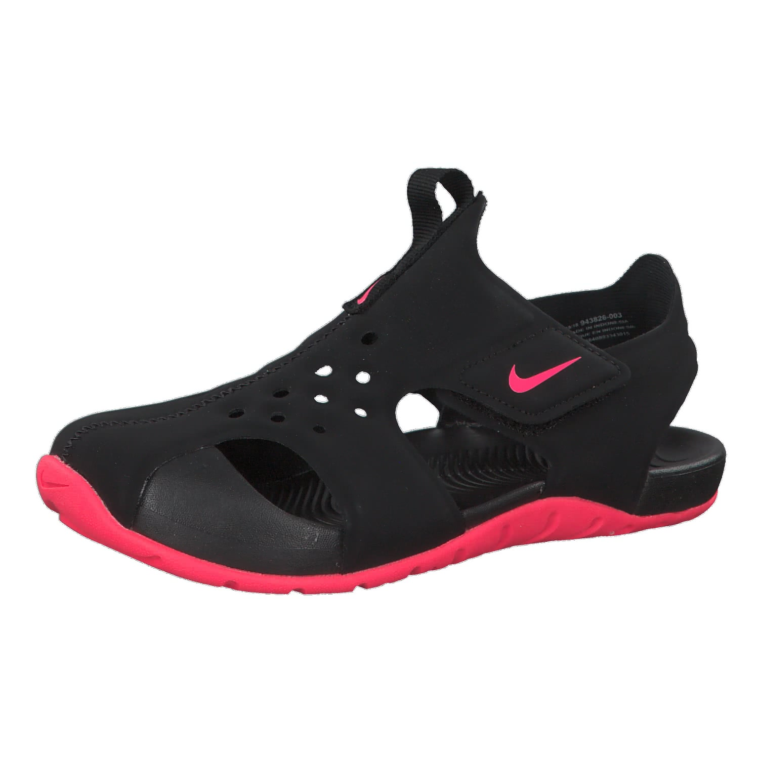 designer fashion dab61 8abc4 nike-sportswear-sunray-protect-2-(ps)-blackracer-pink-943826-003.jpg