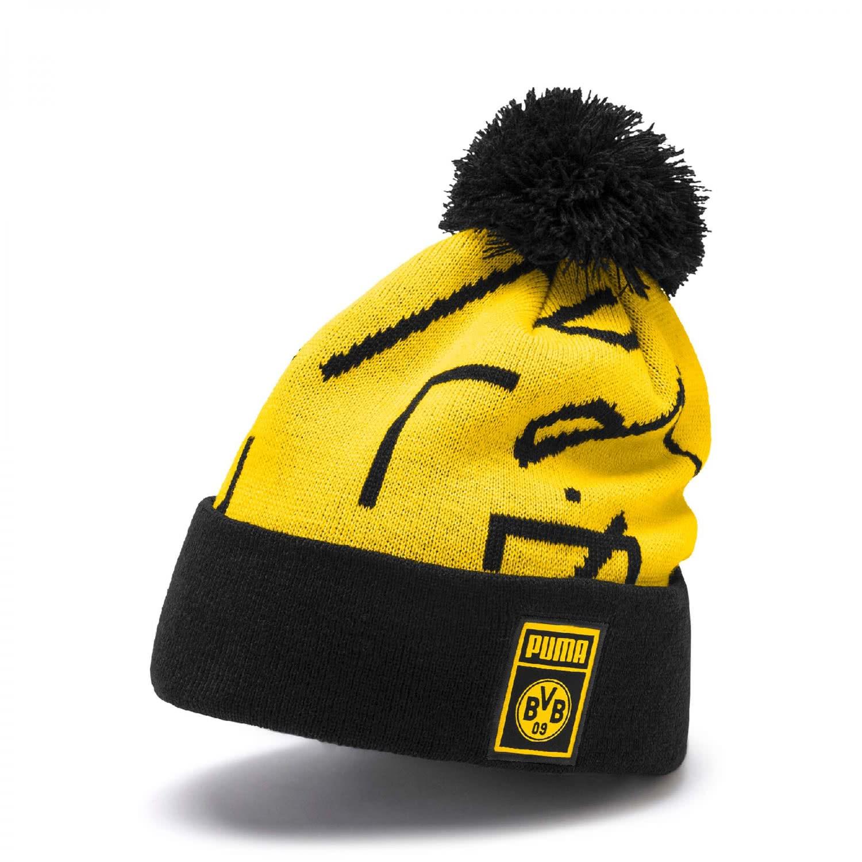 wholesale sales great fit speical offer Puma Borussia Dortmund Mütze BVB Puma DNA Pompom Beanie 022478-01 Cyber  Yellow-Puma Black | One size | cortexpower.de