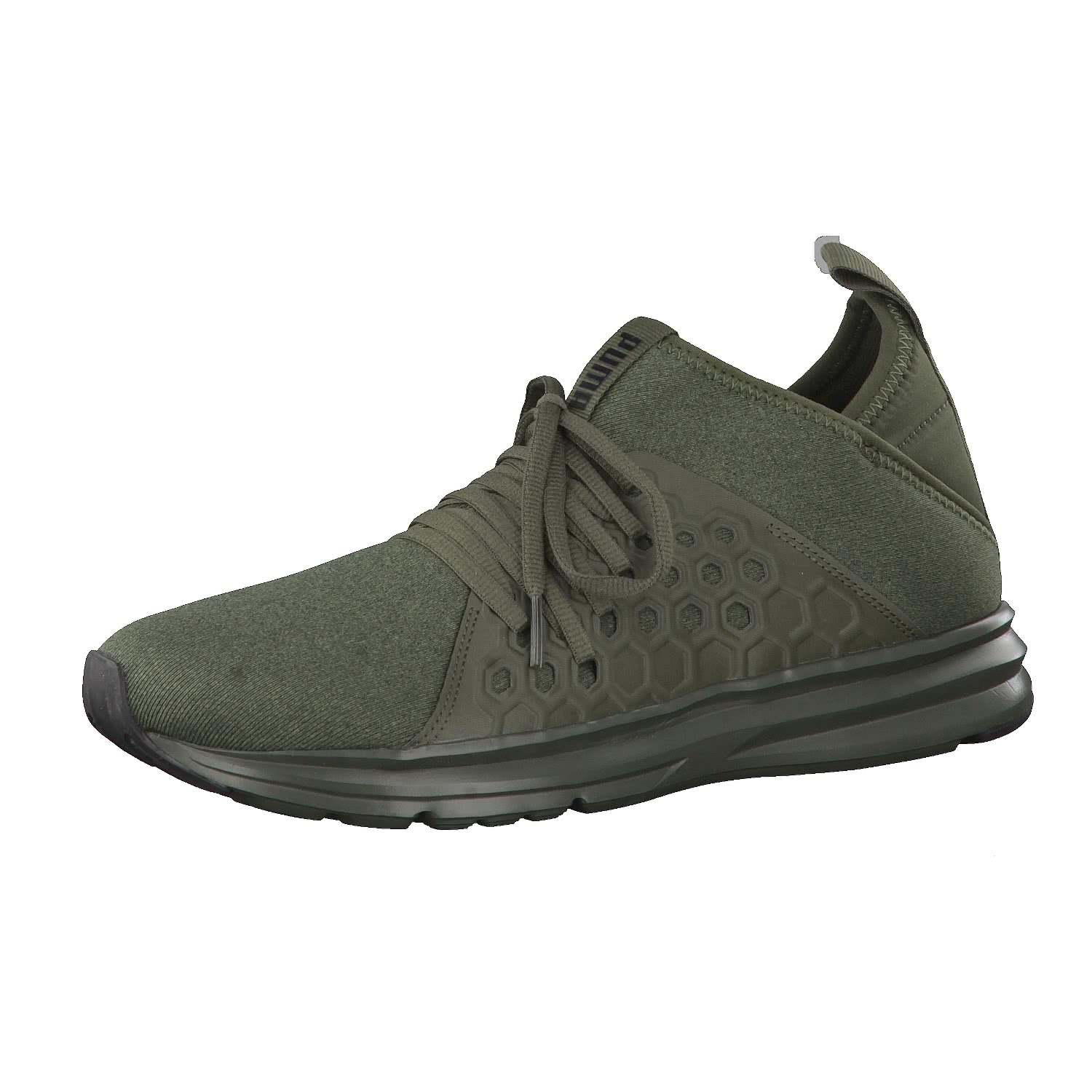 ENZO STREET - Laufschuh Neutral - forest night/puma black
