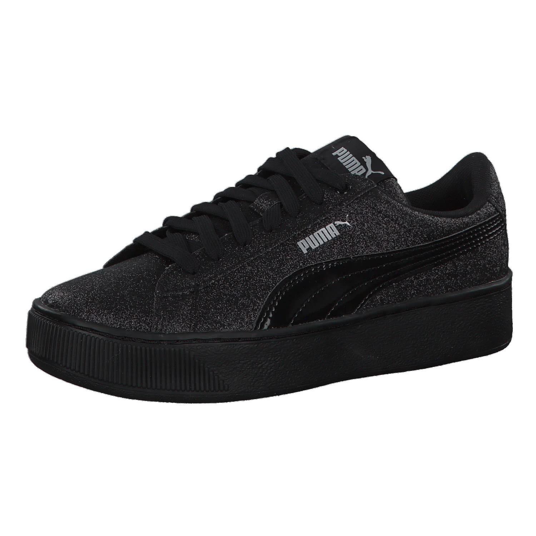 Puma Mädchen Sneaker Vikky Platform Glitz Jr 366856. Doppelklick um das  Bild zu vergrößern 64522143e