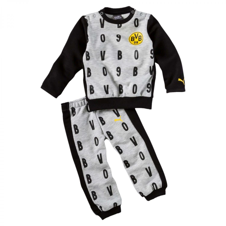 aliexpress 2019 professionell reich und großartig Puma Baby Borussia Dortmund Jogginganzug BVB Minicats AOP ...