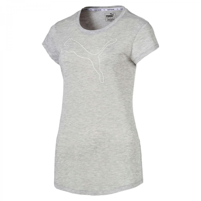 Puma Damen T-Shirt Active Logo Heather Tee 851873 | cortexpower.de