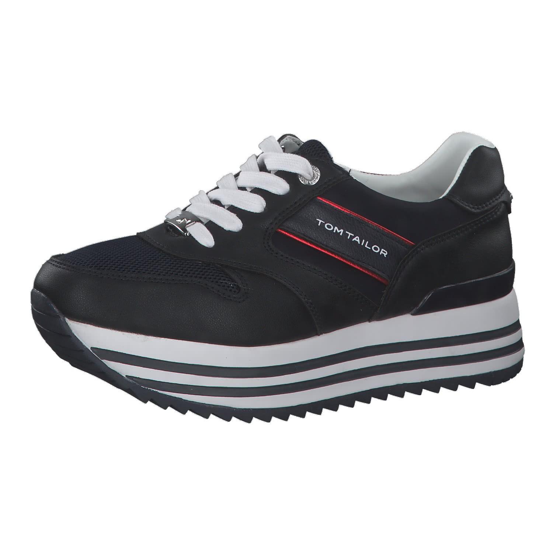 A-Ware Tom Tailor Damen Sneaker Lederimitat//Textil NEU