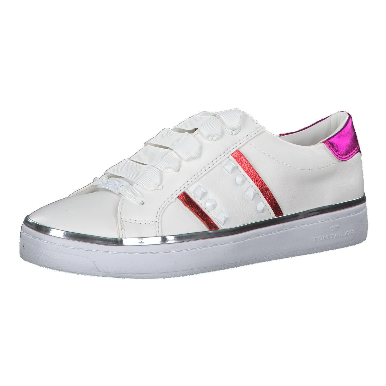 new concept 8b36b 3861b Tom Tailor Damen Sneaker 6992608-White-Red 41 White-Red | 41 |  cortexpower.de