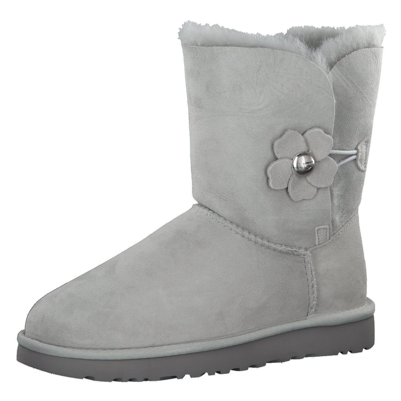 UGG Damen Boots Bailey Button Poppy 1092294 GRV 40 Grey Violet | 40 |