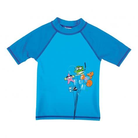 Arena Jungen UV T-Shirt AWT KIDS BOY UV S S TEE 000433 Turquoise Pix Blue Größe 110,92,98