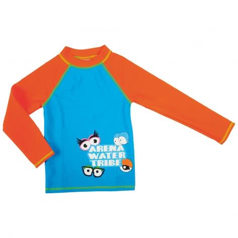 Arena Jungen Bade Langarm Shirt UV TEE 000434 TURQUOISE MANGO Größe 110,92,98
