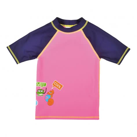 Arena Mädchen UV-T-Shirt AWT KIDS GIRL UV S/S TEE 000438-957 98 Paparazzi-Navy | 98
