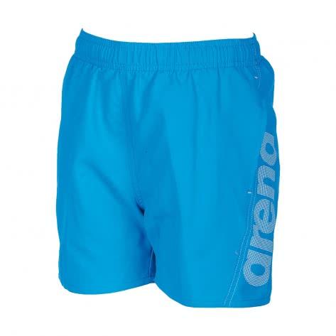 Arena Jungen Badehose Fundamentals Arena Logo Jr Boxer 000662 Turquoise White Größe 116,128,140,152,164