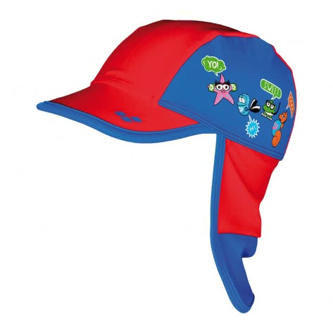 Arena Kinder Kappe AWT KIDS PANEL CAP 000674 Red Pix Blue Größe One size
