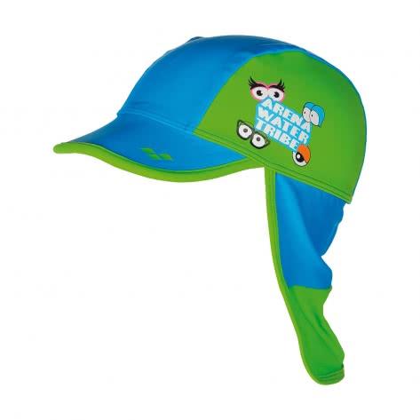 Arena Kinder Kappe AWT KIDS PANEL CAP 000674 Turquoise Leaf Größe One size
